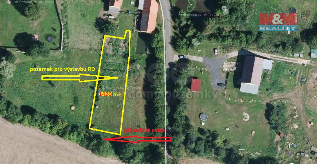 Prodej pozemku k bydlení, 1420 m², Libčeves