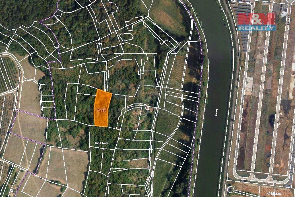Prodej louky, 3381 m², Napajedla