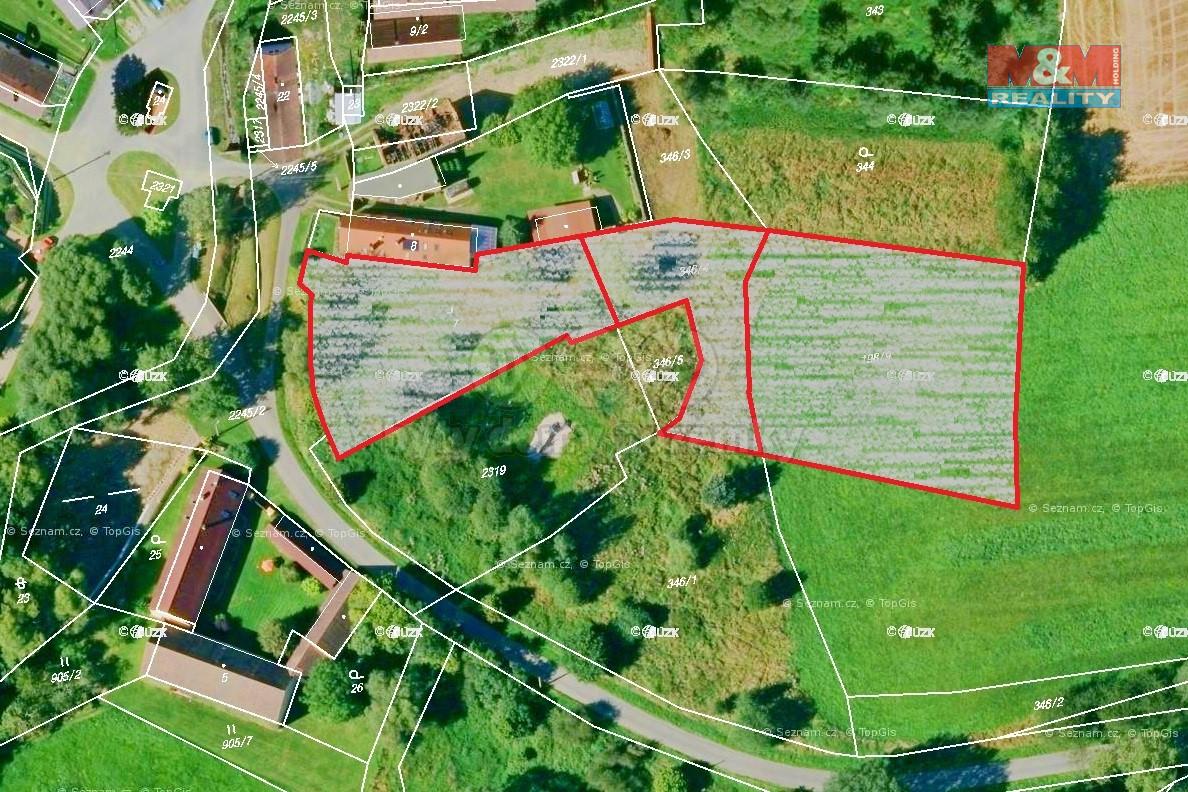 Prodej pozemku k bydlení, 4607 m², Černošín