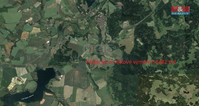 Prodej, louka, 52482 m2, Kynšperk nad Ohří