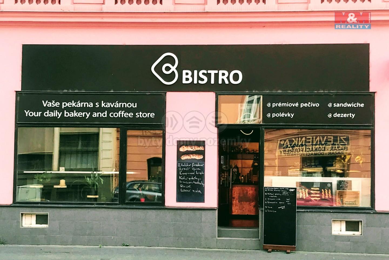 Pronájem restaurace, stravování, 150 m², Brno, ul. Hybešova