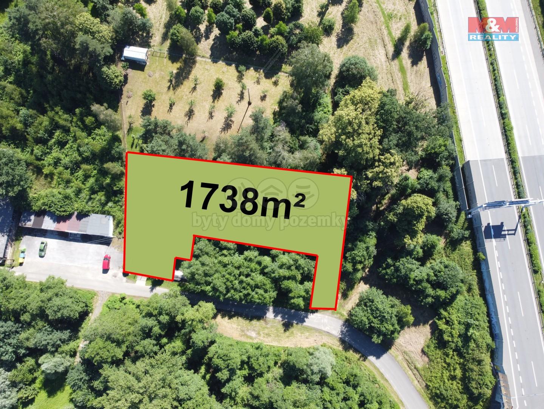 Prodej zahrady, 1738 m², Klimkovice