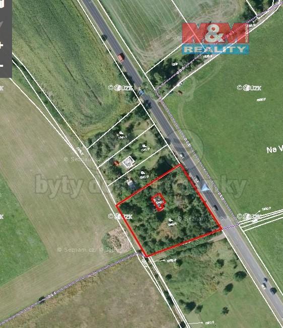 Prodej, stavební pozemek, 3106 m2, Plzeň - Černice