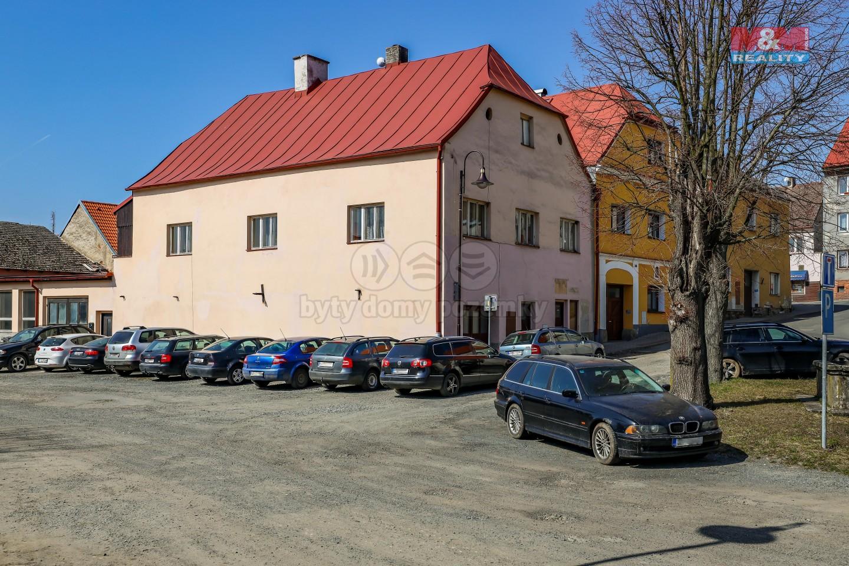 Prodej, rodinný dům, 553 m², Poběžovice, ul. náměstí Míru