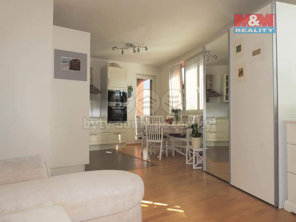 Pronájem bytu 1+kk, 108 m2, Praha 5 - Stodůlky