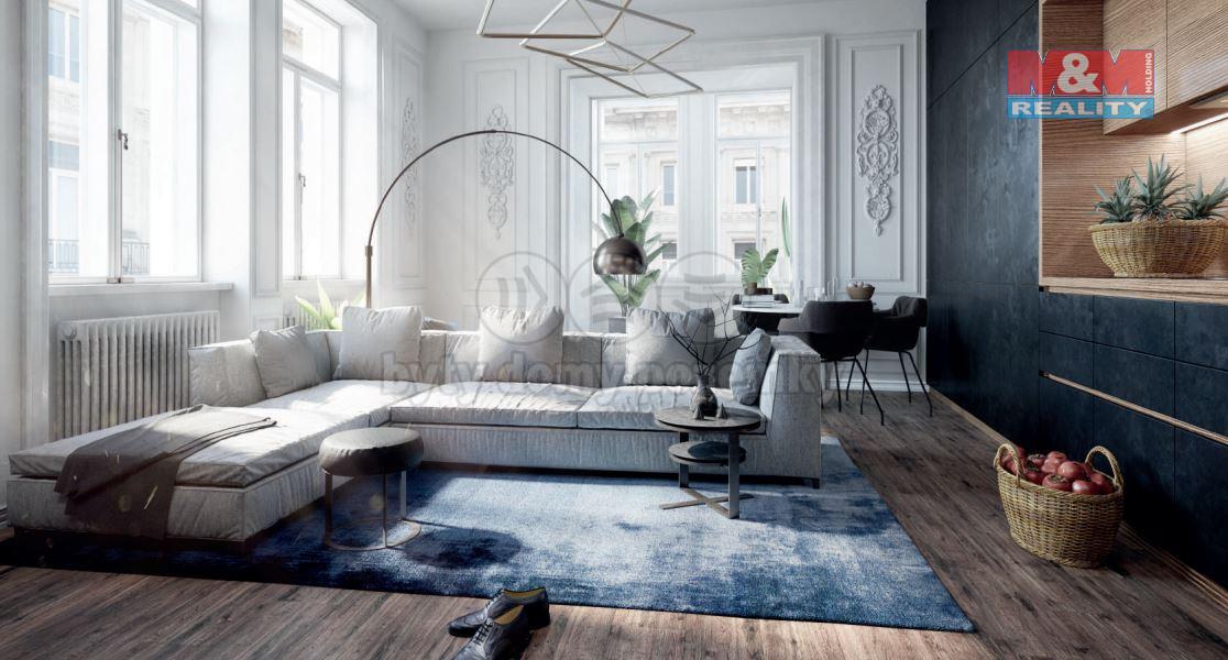 Prodej bytu 1+kk, 30 m², Praha - Vinohrady