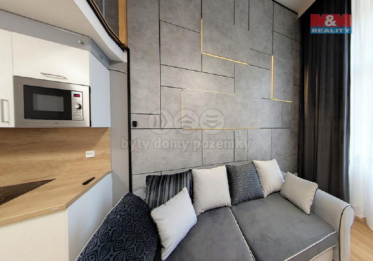 Pronájem bytu 1+kk, 26 m², Praha, ul. Opletalova