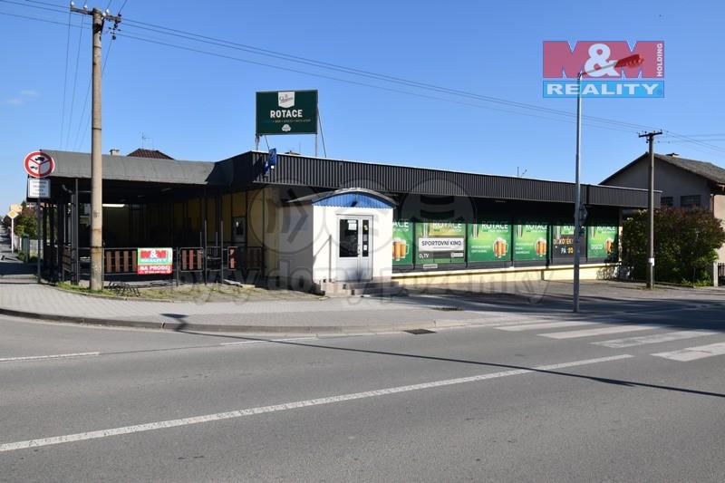 Prodej obchodního objektu, 890 m², Žamberk, ul. Nádražní