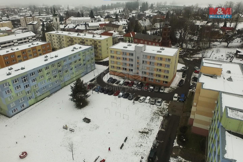 Pronájem bytu 2+kk, 40 m², Volary, ul. Sídl. Míru
