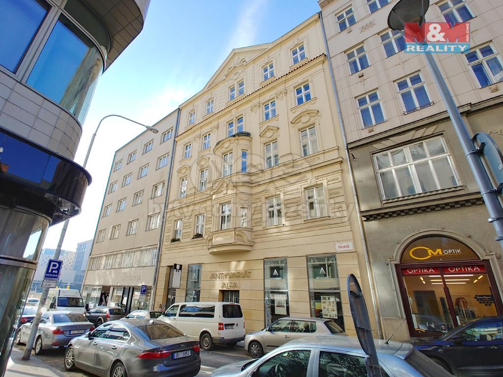 Prodej atypického bytu, 86 m², Brno, ul. Veselá