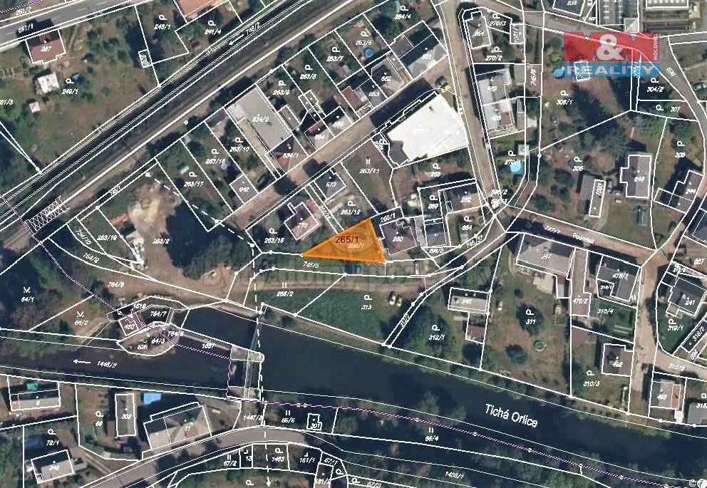 Prodej zahrady, 239 m², Letohrad