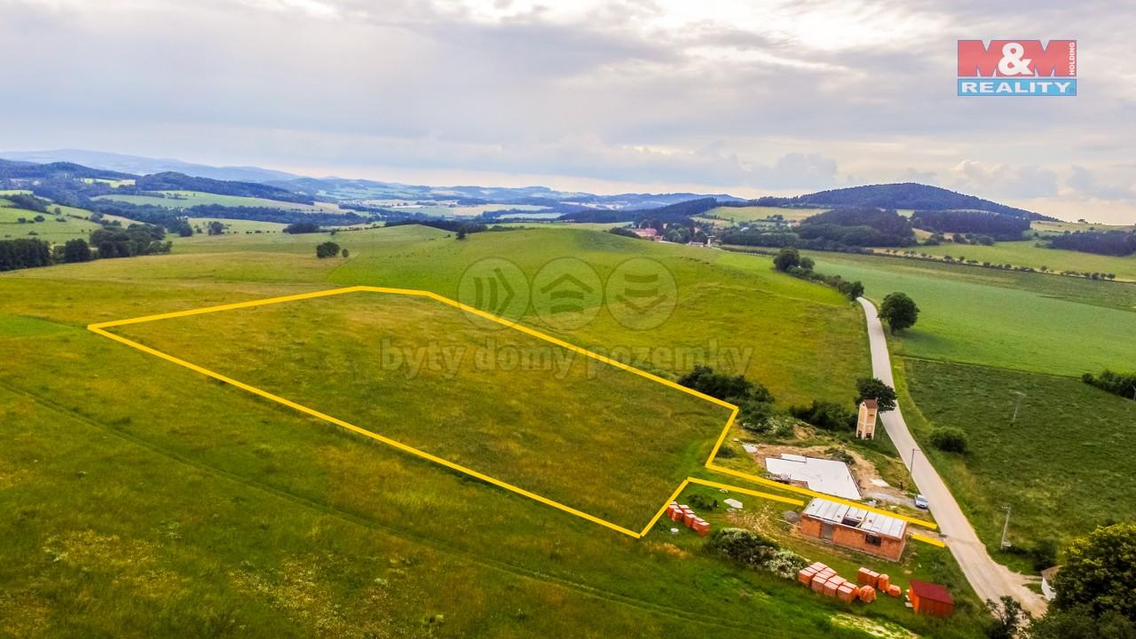 Prodej pozemku k bydlení, 1200 m², Milejovice