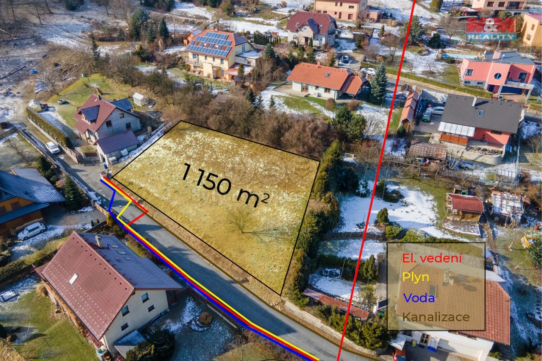 Prodej pozemku k bydlení, 1150 m², Jarcová