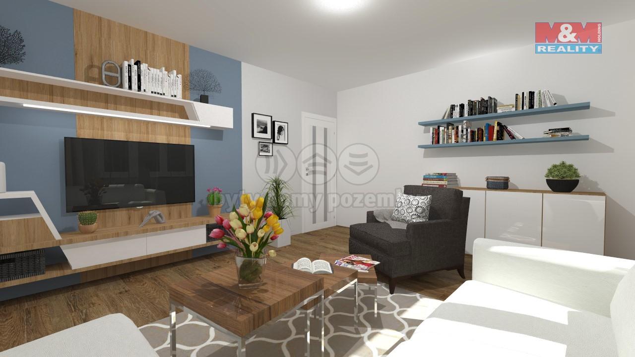 Prodej bytu 3+kk/T, 73 m2, Praha 5 - Košíře