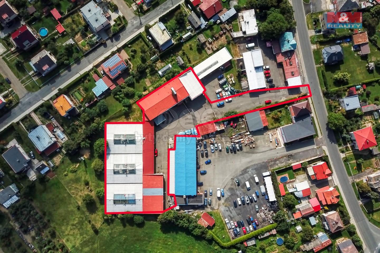 Pronájem výrobního objektu, 5517 m², Planá, ul. Zámecká
