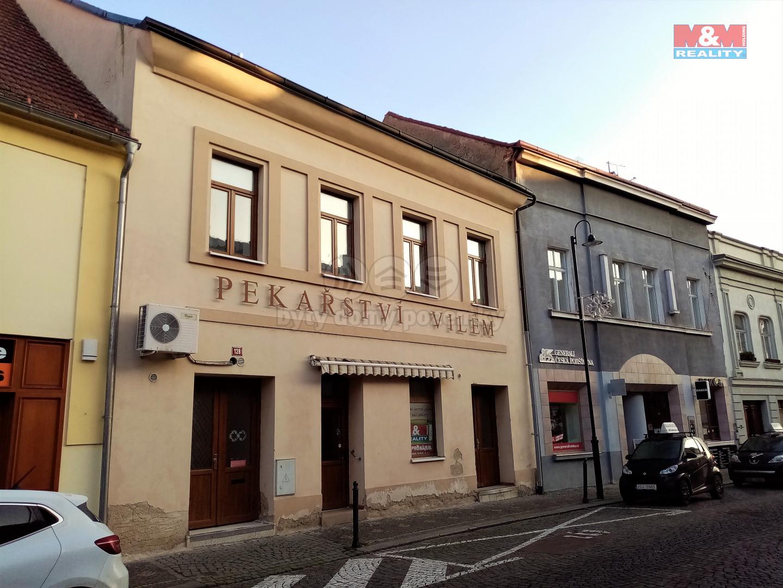 Pronájem obchod a služby, 499 m², Slaný, ul. Kynského
