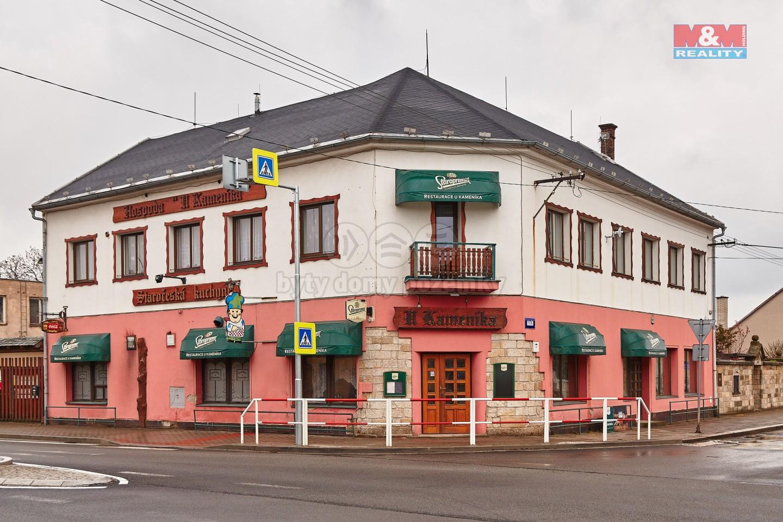 Prodej restaurace, stravování, 548 m², Ostroměř