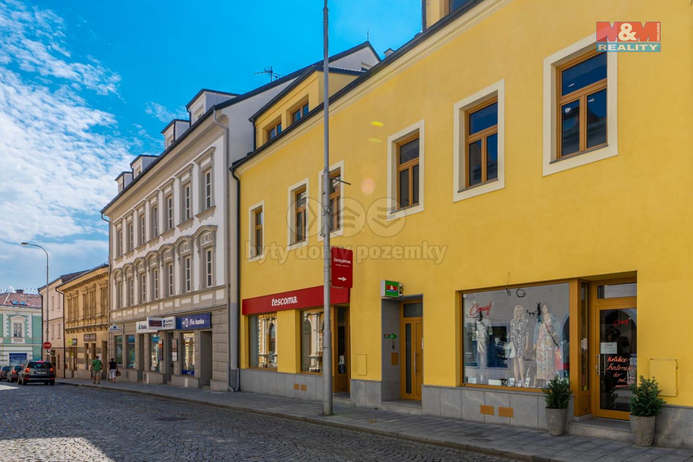 Pronájem bytu 2+kk s terasou v Klatovech, ul. Vídeňská