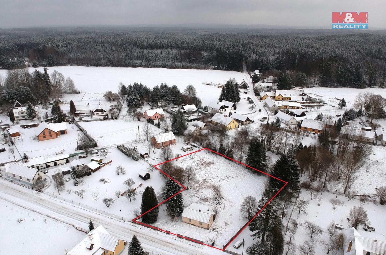 Prodej pozemku k bydlení, 2592 m², Františkov