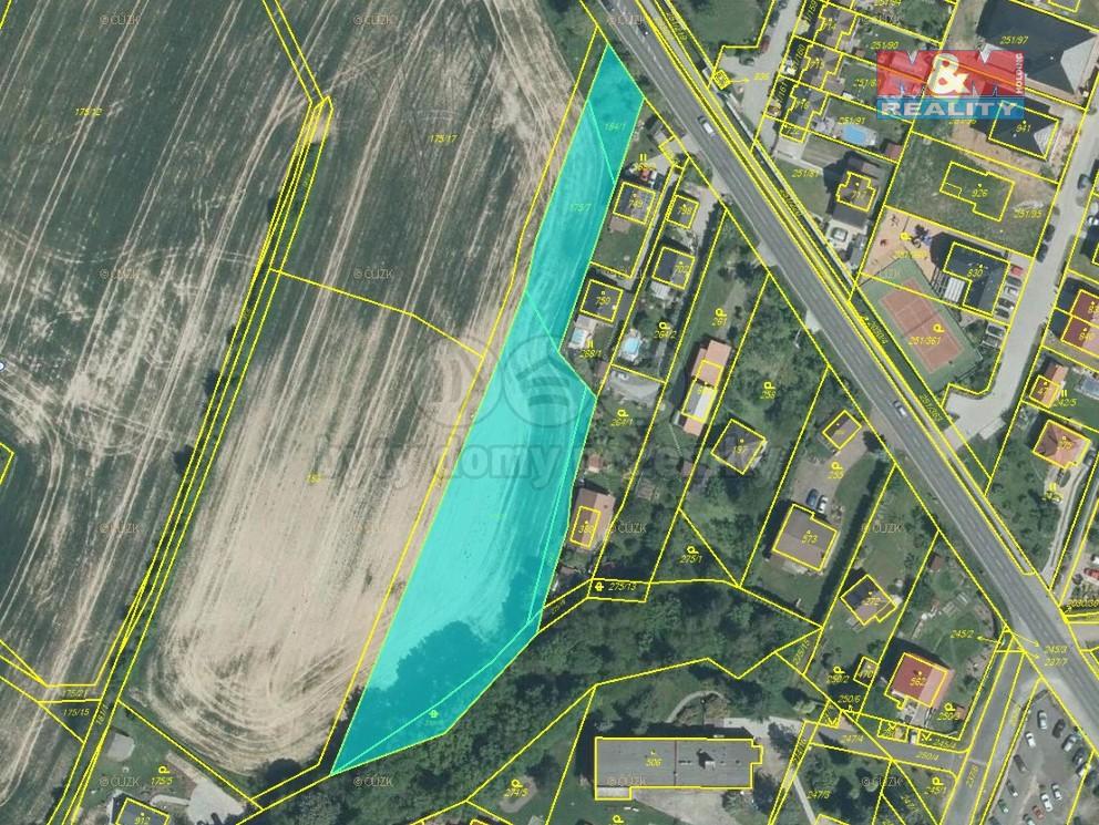 Prodej, stavební pozemek, 4784 m², Losiná