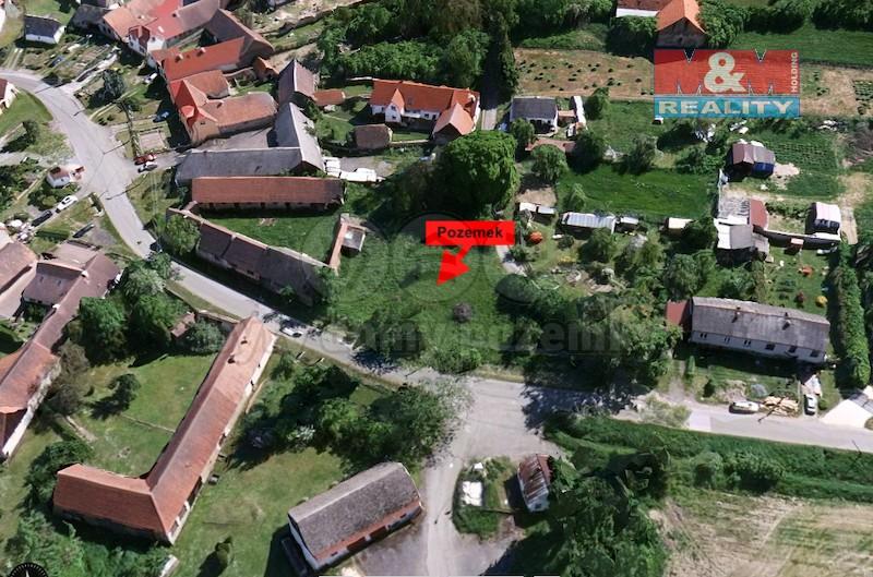 Prodej, pozemku, CP 828 m2, Čechtice, Nakvasovice