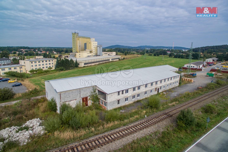 Prodej skladu, víceúčelové haly 1465 m², Radošovice
