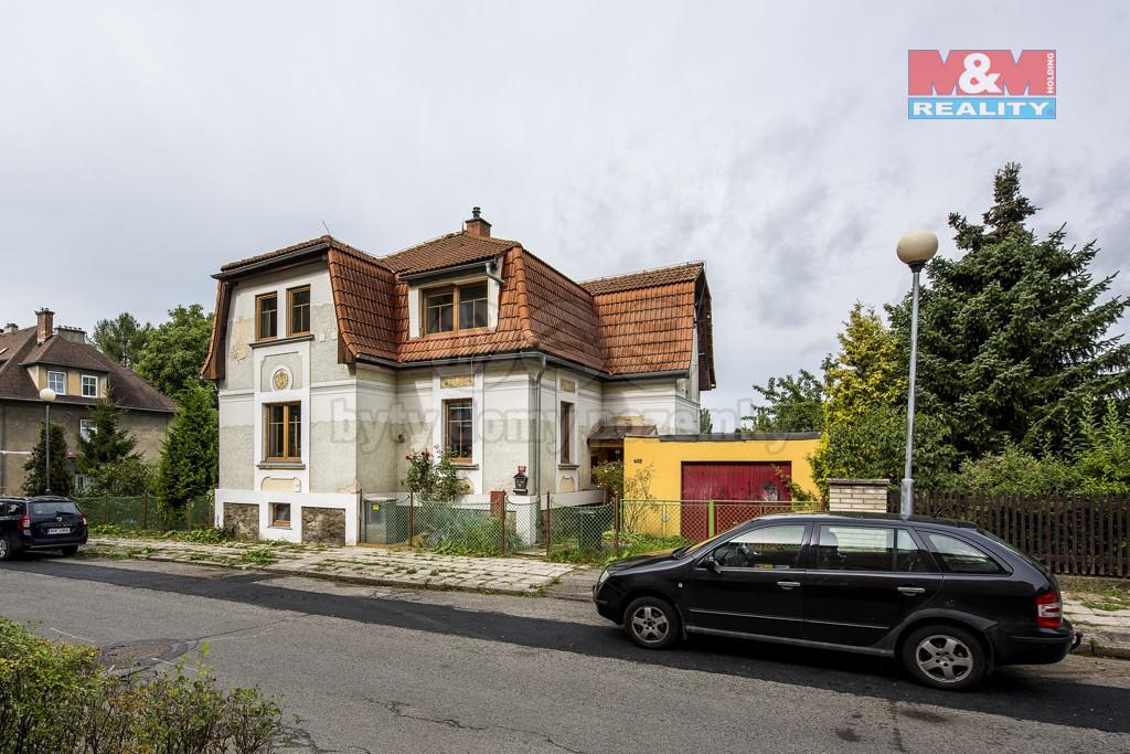 Prodej rodinného domu, 663 m², Nový Bor, ul. Bezručova