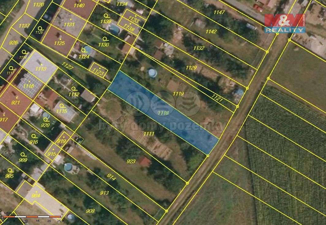 Prodej pozemku k bydlení, 484 m², Otaslavice