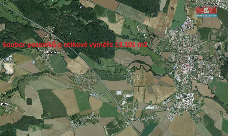 Prodej louky, 13101 m², Mladeč