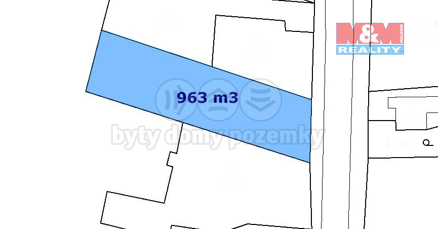 Prodej pozemku k bydlení, 963 m², Krásná Lípa