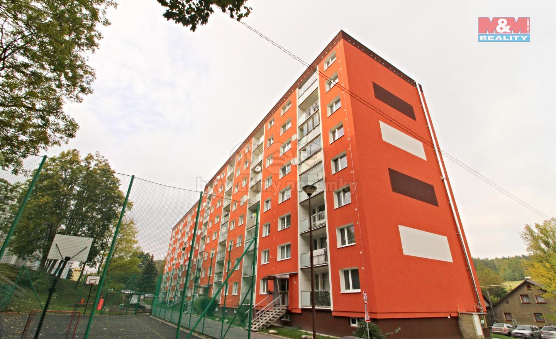 Pronájem bytu 2+kk, 40 m², Cvikov, ul. Vančurova
