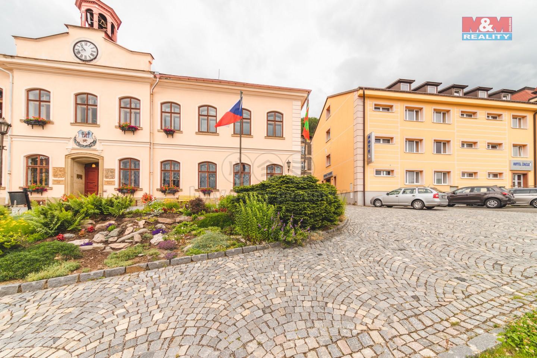 Prodej hotelu, 1311 m², Žacléř, ul. Rýchorské náměstí