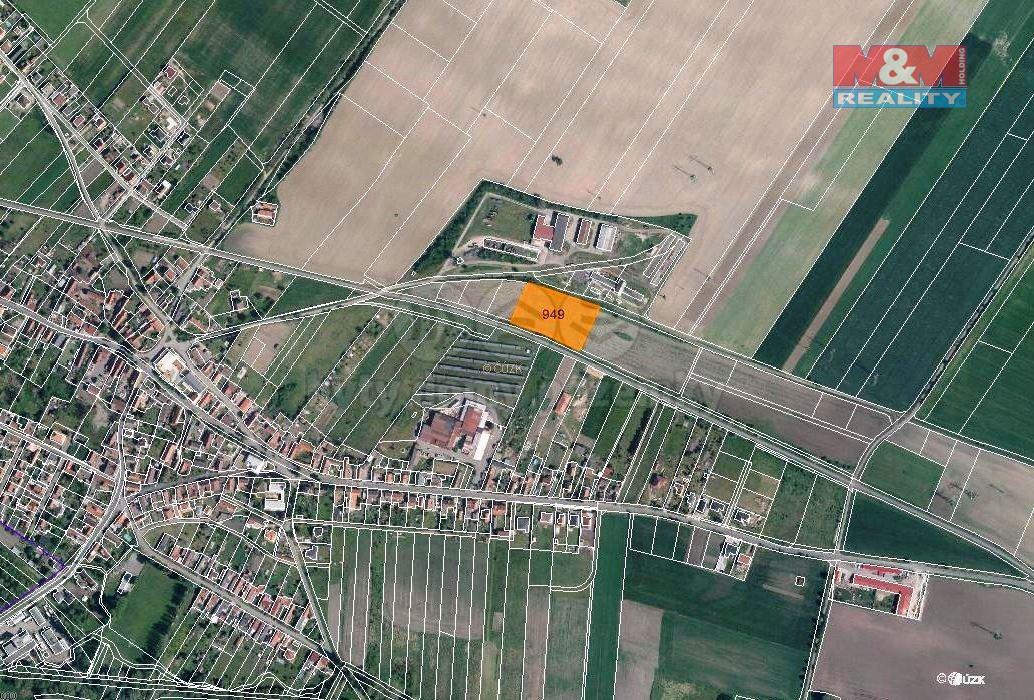 Prodej pole, 5514 m², Velký Borek