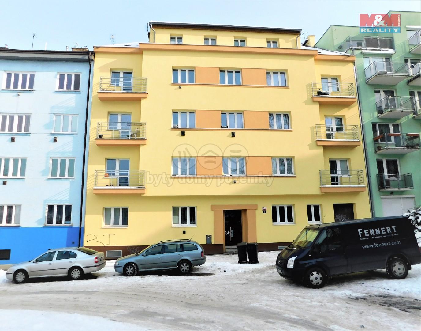 Pronájem bytu 1+1 v Praze, ul. Košířské náměstí