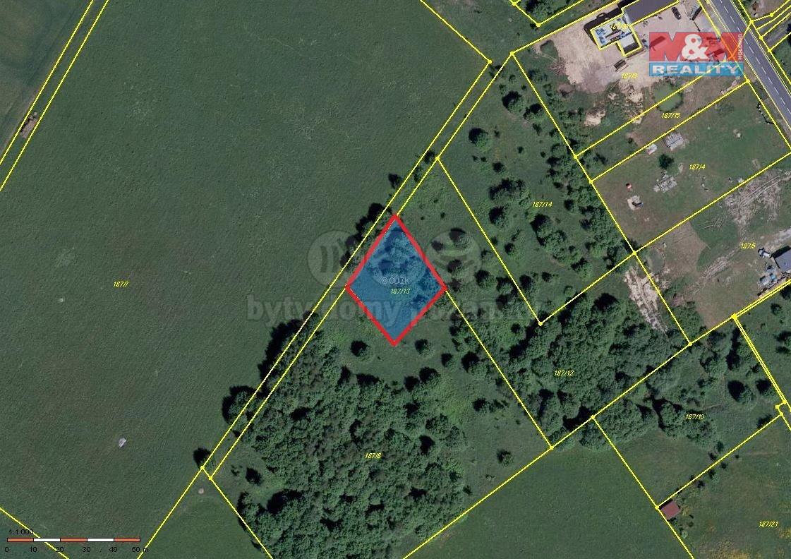 Prodej pozemku k bydlení, 867 m², Josefov