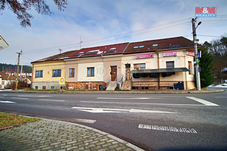 Pronájem bytu 1+kk, 21 m², Tetčice, ul. Nádražní