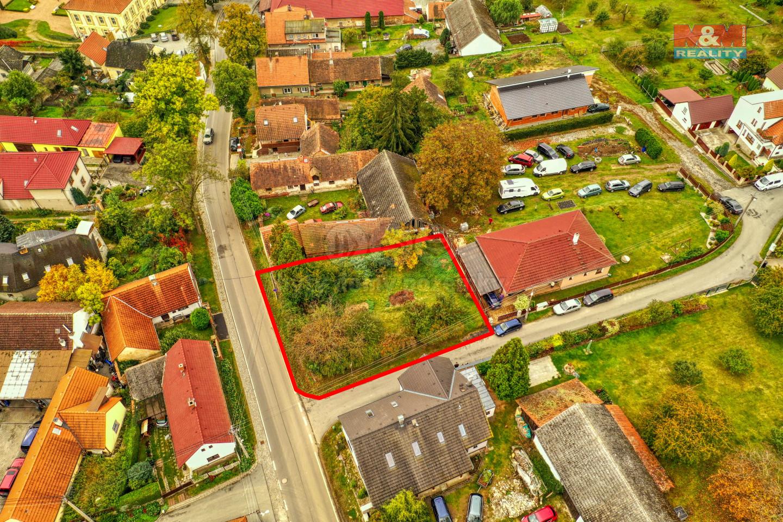 Prodej pozemku k bydlení, 553 m², Nebílovy