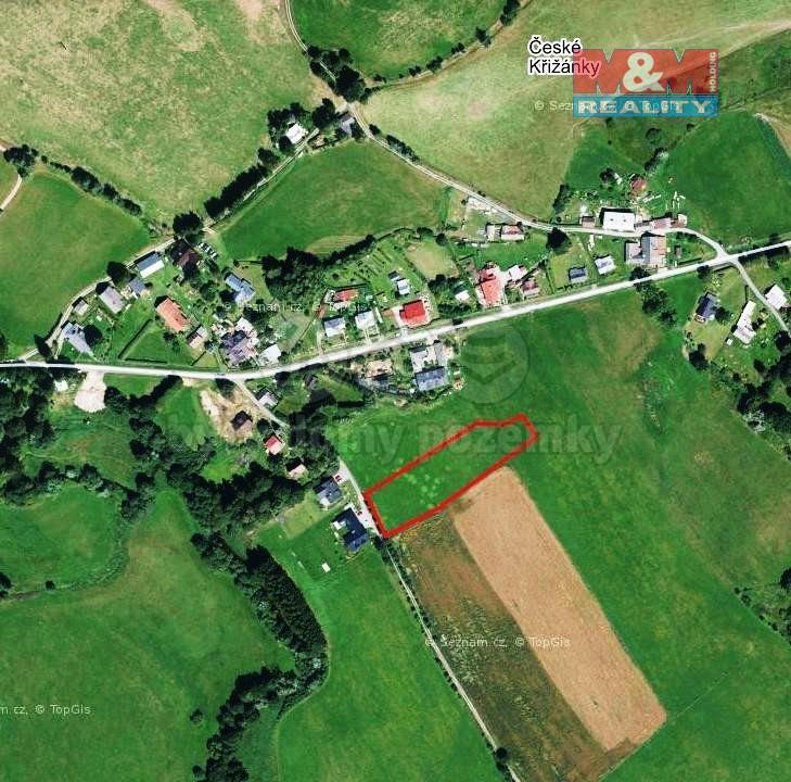 Prodej pole, 4845 m², Křižánky