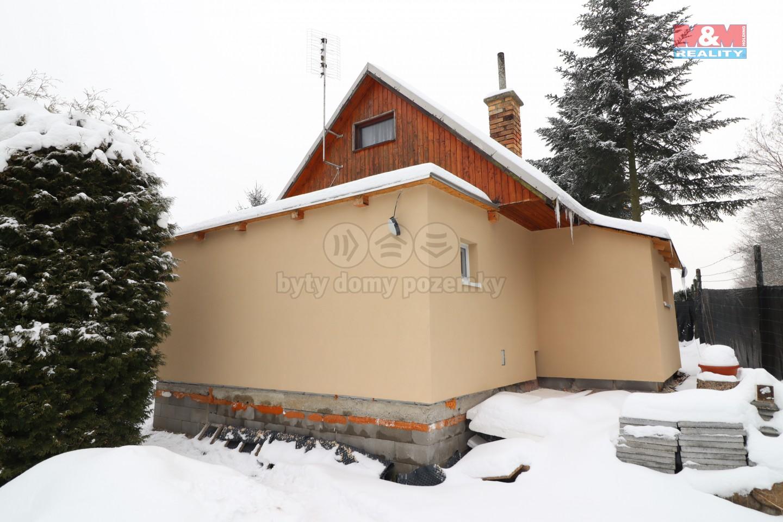 Prodej chaty 2+kk, 40 m2, v Litvínově
