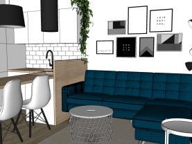 Pronájem bytu 2+1, 38 m², Jihlava, ul. Třebízského
