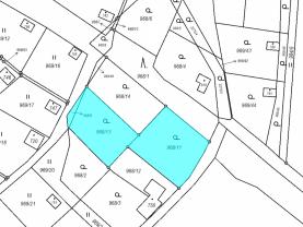 Prodej zahrady ve Skalici u České Lípy, 1022 m2