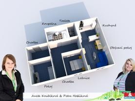 pavlíkov.jpg (Prodej bytu 3+kk, 82 m², Pavlíkov), foto 4/11
