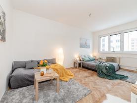 Prodej bytu 1+1, 36 m², Jihlava, ul. Polní