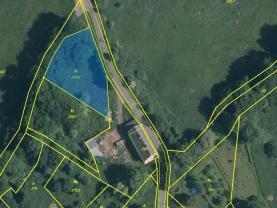 mapka (Prodej pozemku, 1651 m², Stružnice), foto 4/4