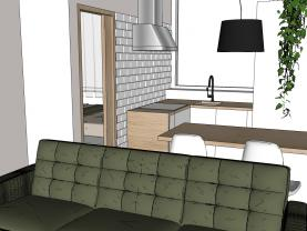 Pronájem bytu 2+1, 36 m², Jihlava, ul. Třebízského