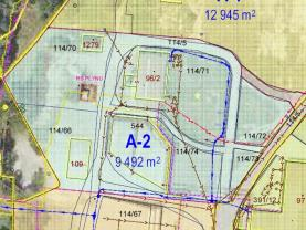Prodej, komerční pozemek, 9492 m2, Ostrava, ul. Orlovská