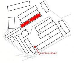 Plán areálu I (Pronájem, sklad, 244 m2, Chodov, okr. Sokolov), foto 4/4