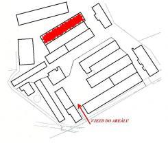 Plán areálu K (Pronájem, sklad, 700 m2, Chodov, okr. Sokolov), foto 4/5