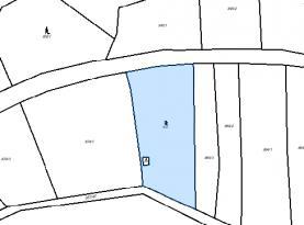 mapa parcely 872 (Prodej, stavební pozemek, 3344 m2, Otvovice), foto 3/3