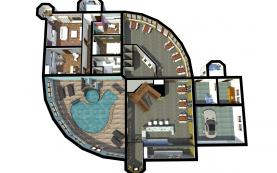 Prodej, restaurace, penzion, 930 m2, Praha 9